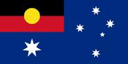 800px-Flag of Australia with Aboriginal flag replacing Union flag svg
