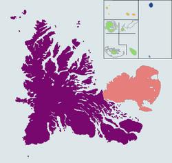 Cantons of Kerguelen