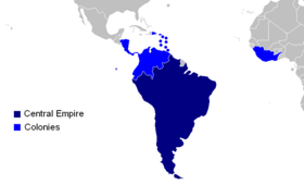 Empire map