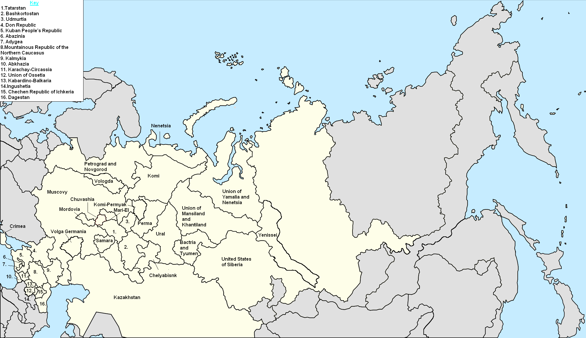 Image Federation Of Russia Central Worldpng Alternative - Lena river on world map