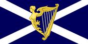 Flag of the United Kingdom of Scotland and Ireland