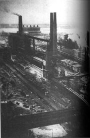 Magnitogorsk steel production facility 1930s