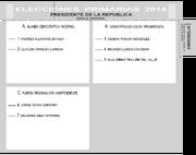 Primarias 2014 voto cns