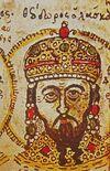 Theodore I Laskaris miniature