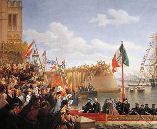 Прибытие Карла в Веракрус