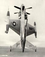 300px-Lockheed XFV-1 on ground bw