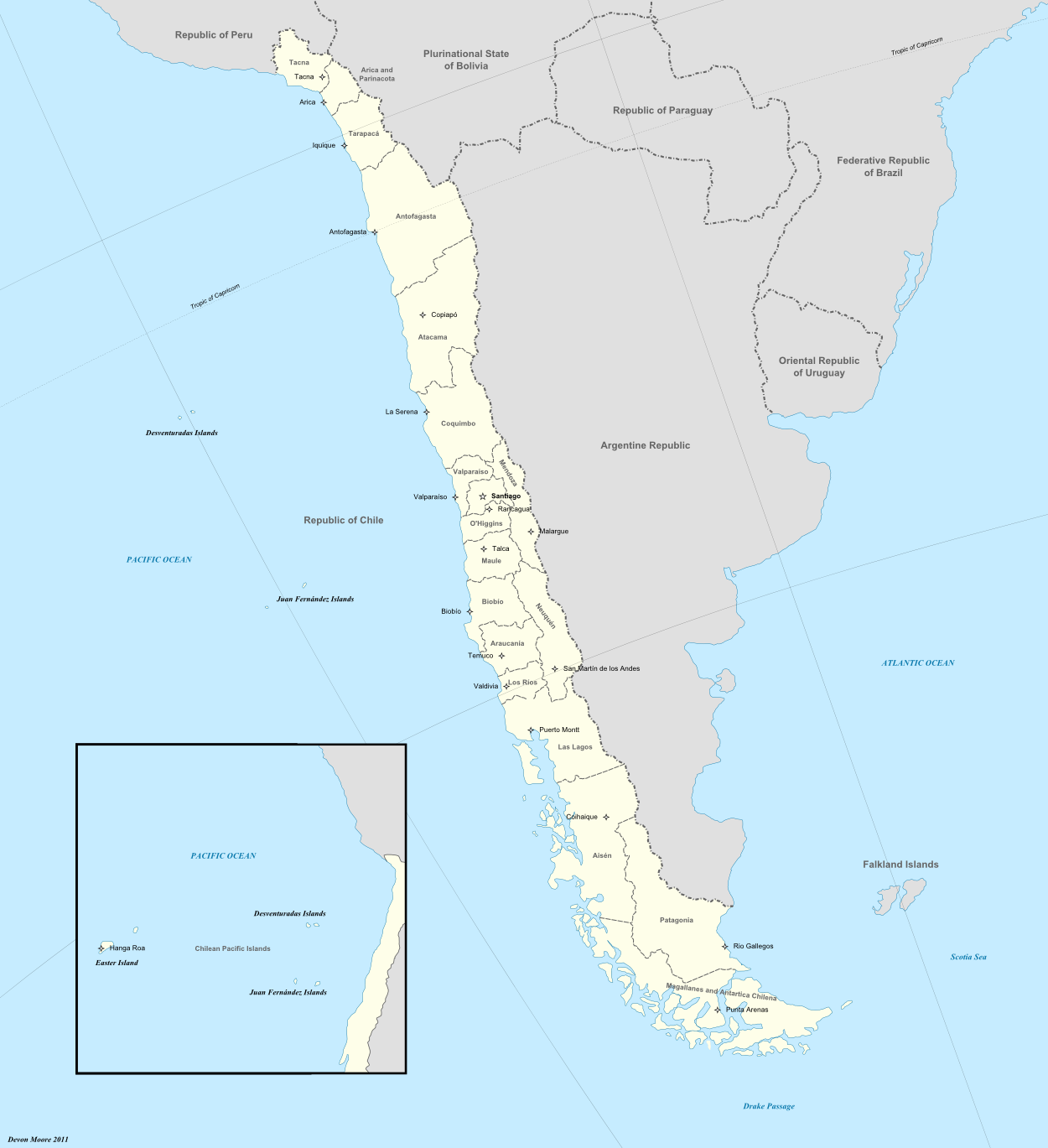Regions of chile central world alternative history fandom atlas of chile central world gumiabroncs Gallery