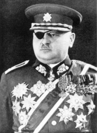 Portrait of Jan Syrový in 1938.