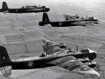 Short stirling aircraft