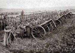 Болгарская артиллерия