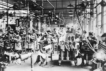Производство двигателей