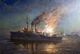 Битва в Рижском заливе