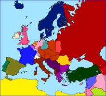 Europe 1945