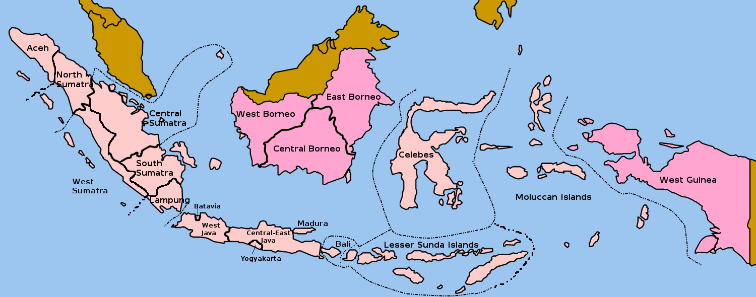 Federation Of The East Indies 1928