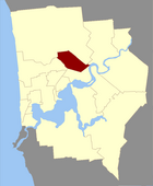 Map of Vincent County