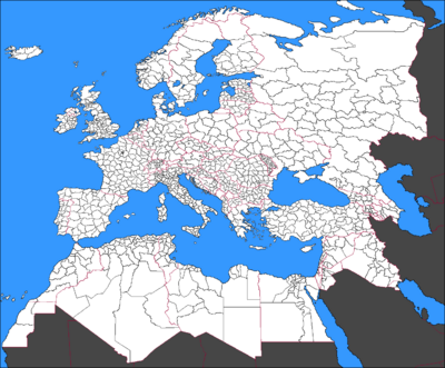 Europe County Map