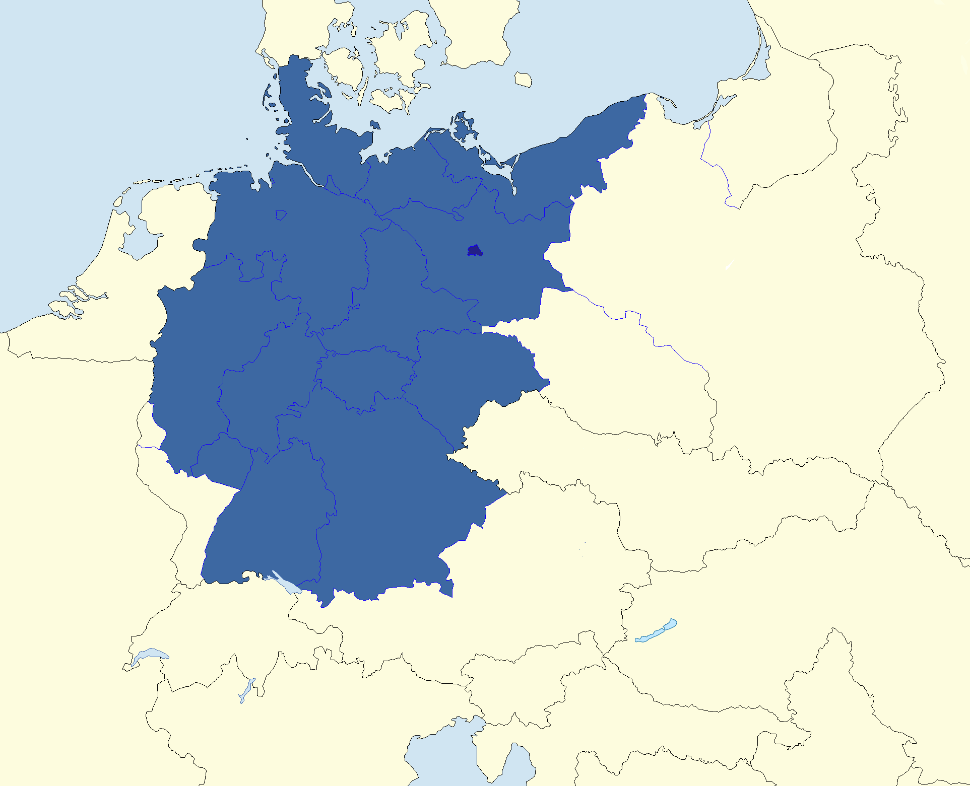 Image - Map of New Germany.png | Alternative History | FANDOM ...