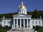 Vermont State House front