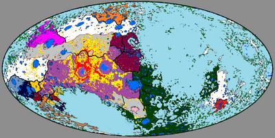 Карта мира 1477