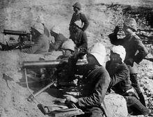 Bundesarchiv Bild 183-S29571, Türkei, Dardanellen, MG-Stellung