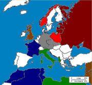 Europe after the War, November 2nd, 1942