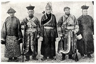 Mongolian Civil War