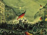Die deutsche Revolution von 1848