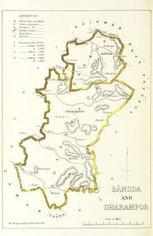 Bansda mapa