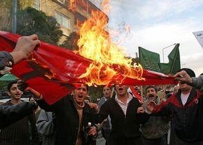 DamaskusFlaggenverbrenn1