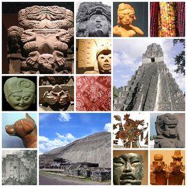 Mosaico de Mesoamérica