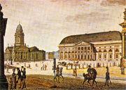 Berlin Gendarmenmarkt 1815