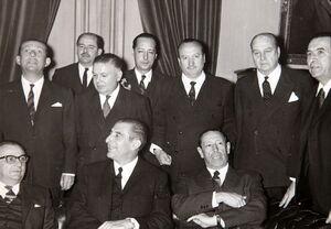 Ángel Faivovich, Eduardo Frei, Hugo Zepeda, Presidente del Senado