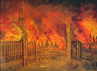 Сожжение Брюсселя