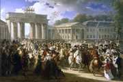 800px-Charles Meynier - Napoleon in Berlin