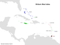 Map of the Britannic West Indies (13 Fallen Stars)