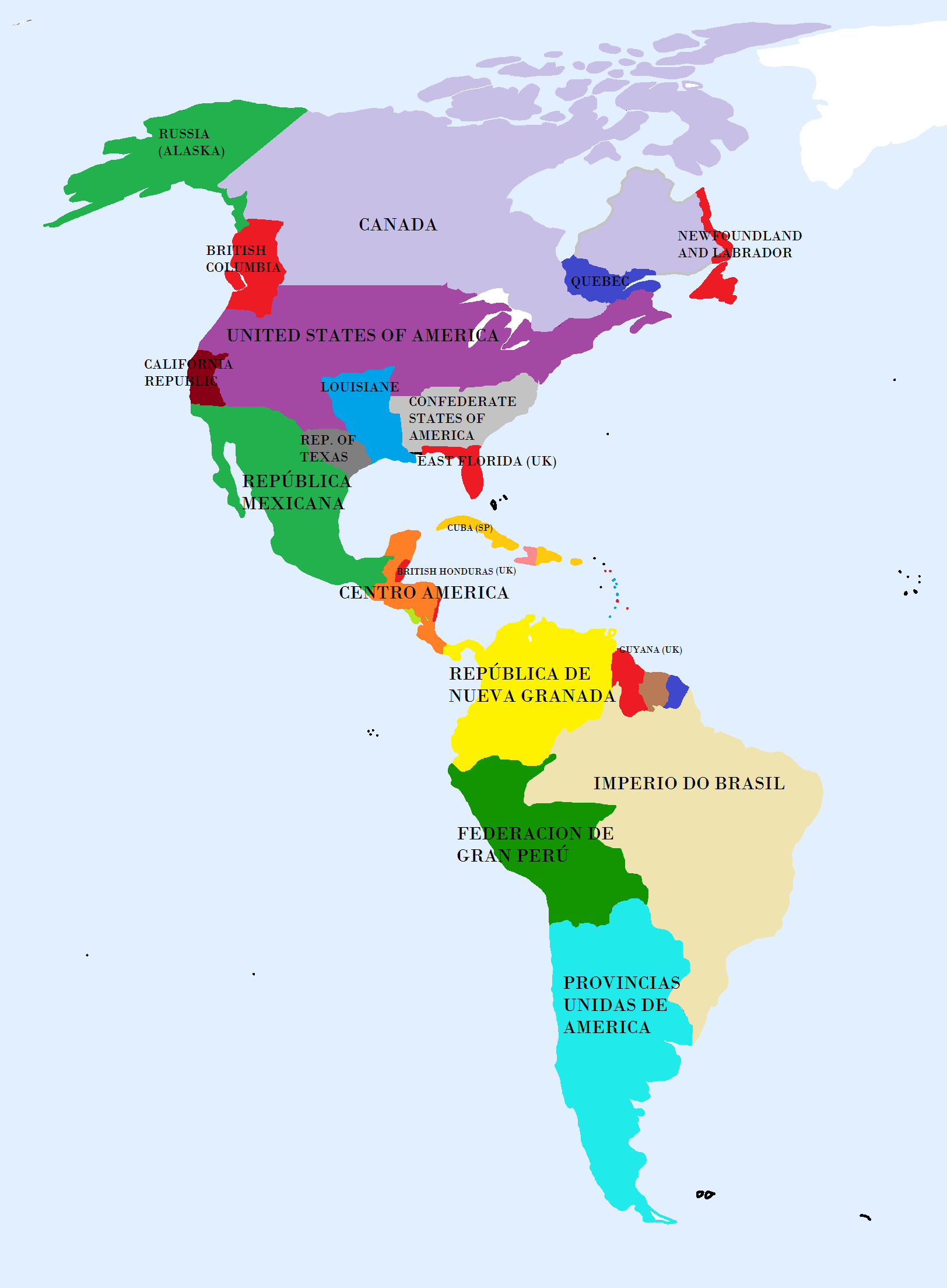 mapa Image   Mapa america.png | Alternative History | FANDOM powered by  mapa