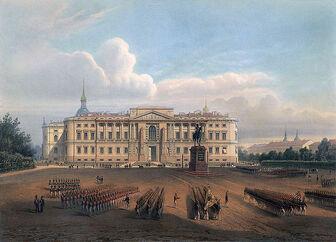 Замок в 1850-е