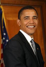 Barack Obama Senate portrait 2005