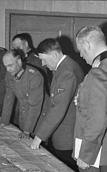 Hitler y sus generales