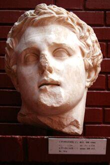 Lisymachus, marble - Ephesus Museum