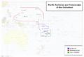 Map of Fiji and Micronesia (13 Fallen Stars)