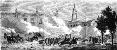 Берут Севилью
