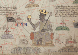 Catalan Atlas BNF Sheet 6 Mansa Musa