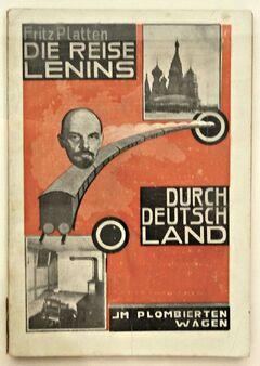 Reise Lenins durch Deutschland (Platten)