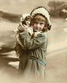 Фантина в детстве