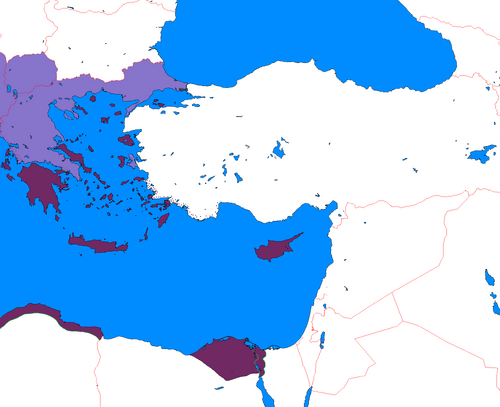 Federation of Greece Map One