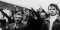 Шествие правого профсоюза