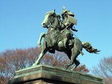 640px-Kusunoki Masashige statue