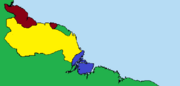 Arawakan Tribal Nation Map