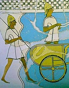 Charioteer-spearman-pylos-fresko